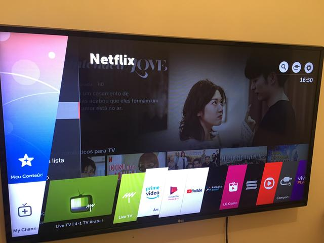 Smart TV LED 43? LG 43LKPSC Full HD - Wi-Fi - Conversor