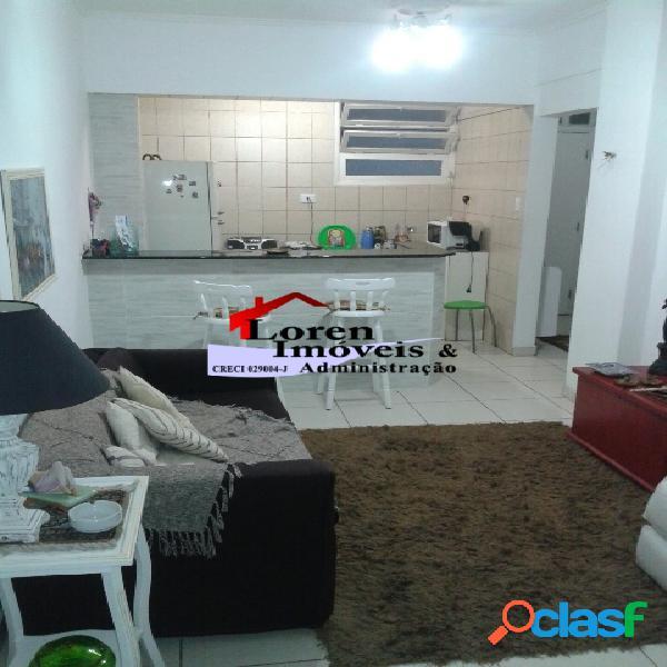 Apartamento 1 dormitório mobiliado vista ao mar Boa Vista!