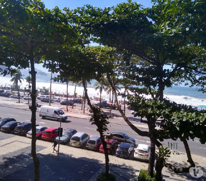 Av. Atlântica Alugo Apartamento Vistão Mar Reformado Posto