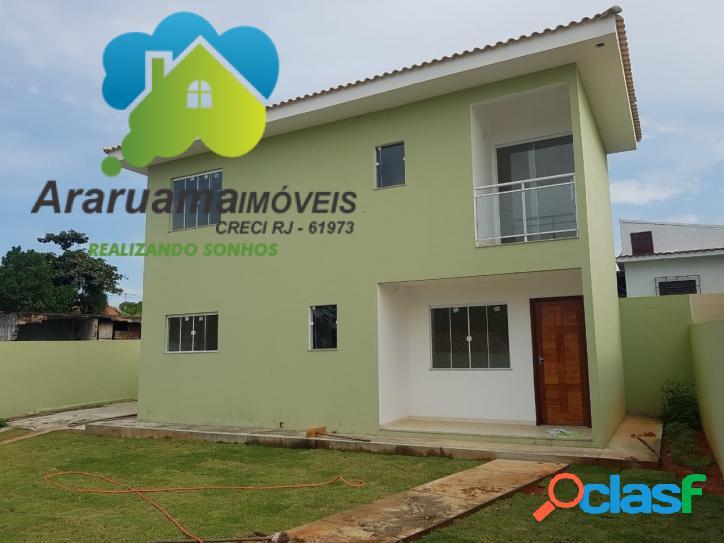 Excelente casa nova localizada no bairro Boa Perna
