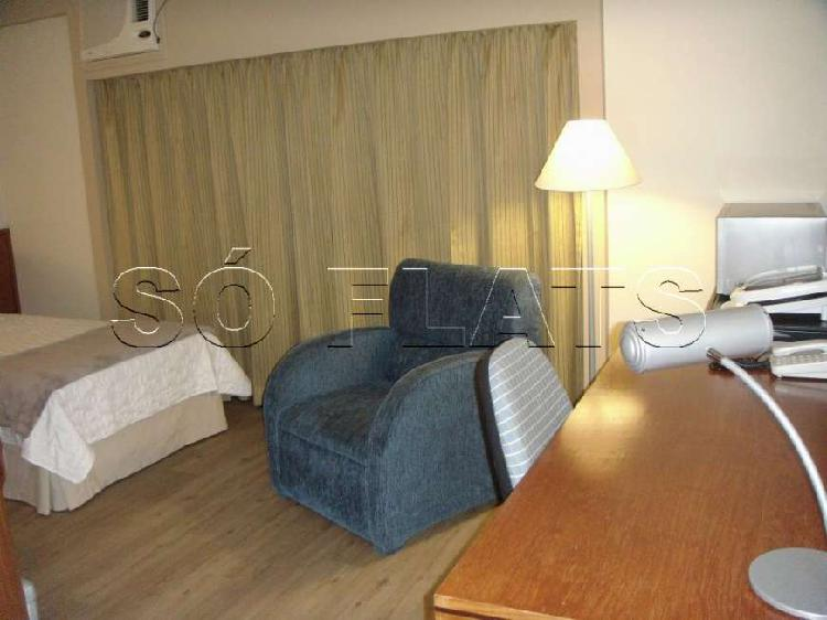 Flat com 1 Quarto para Alugar, 26 m² por R$ 1.430/Mês COD.