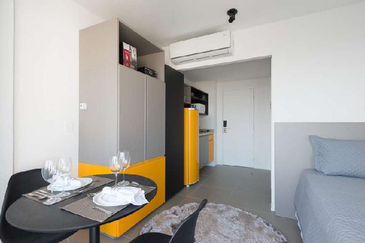 Flat com 1 Quarto para Alugar, 27 m² por R$ 2.650/Mês COD.