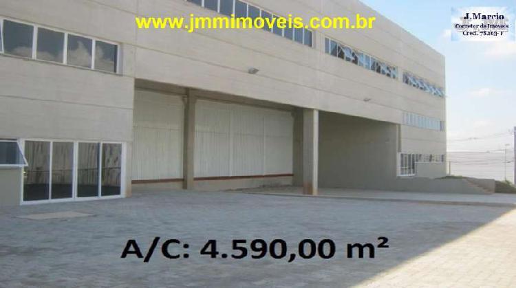 Galpão/Depósito/Armazém para Alugar, 4590 m² por R$