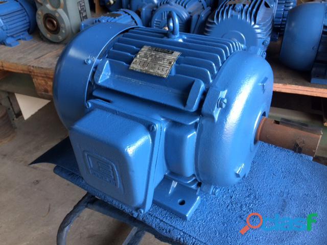 Motor Elétrico Eberle 5 Cv 1100 Rpm 6 pólos Trifásico
