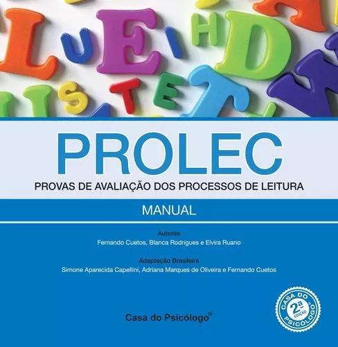 Prolec-prova De Avaliação Dos Processos De Leitura