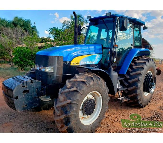 Trator New Holland TM 7040 (Automatico SPS - 2.900 Horas!)