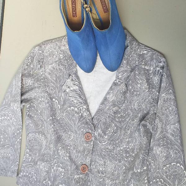 jaqueta G e Sapatos 37
