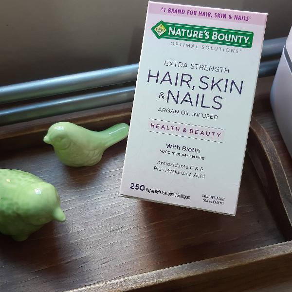 vitaminas para pele cabelo....5,000mcg de Biotina ...