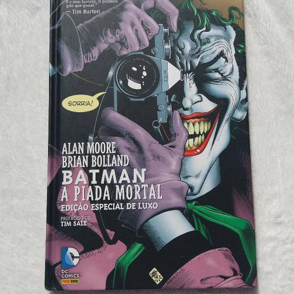 A Piada Mortal de Alan Moore e Brian Bolland