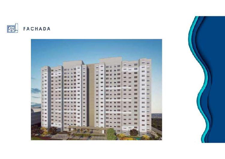 Apartamento com 2 Quartos à Venda, 41 m² por R$ 185.000