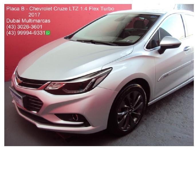 Chevrolet Cruze LTZ 1.4 Flex Turbo (Aut.) - Placa B - 2017
