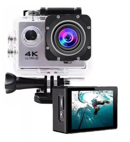 Câmera De Ação Filmadora Go Pro Sport 720p C/ Microfone