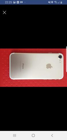 Iphone 7 dourado com nota fiscal