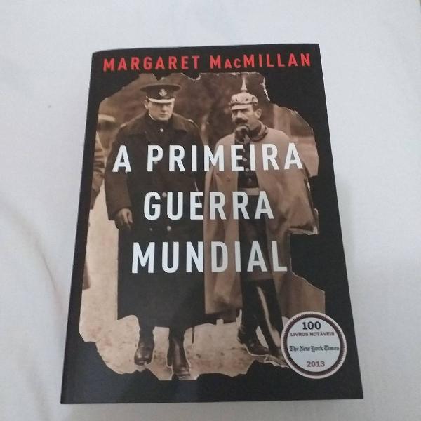 "Livro ""Primeira guerra mundial"""