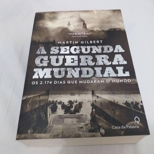 "Livro ""Segunda guerra mundial"""