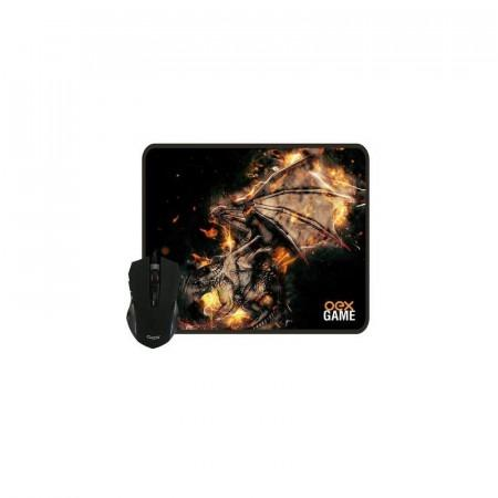 Mouse Gamer c/ Mouse Pad Profissional