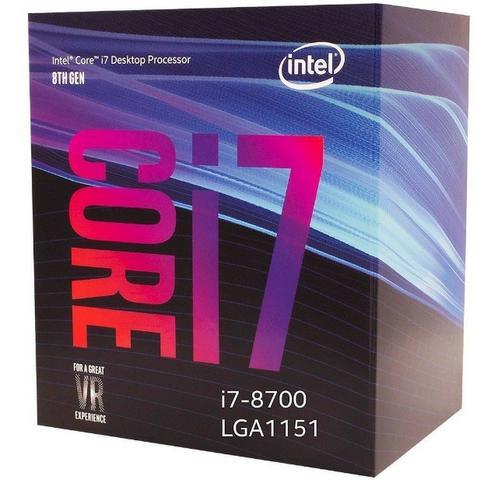 Processador Intel Core I7 Oitava Geração  Lga Novo