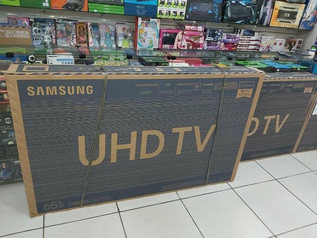 TVs Samsung Smart 4K 55 polegadas novas com garantia e nota