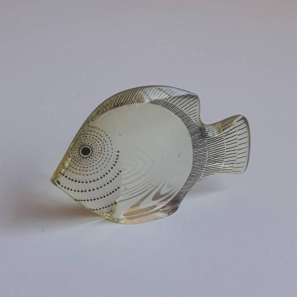 abraham palatnik - peixe branco original doa anos 70