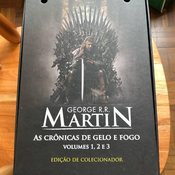 box as crônicas do gelo e fogo (game of thrones)