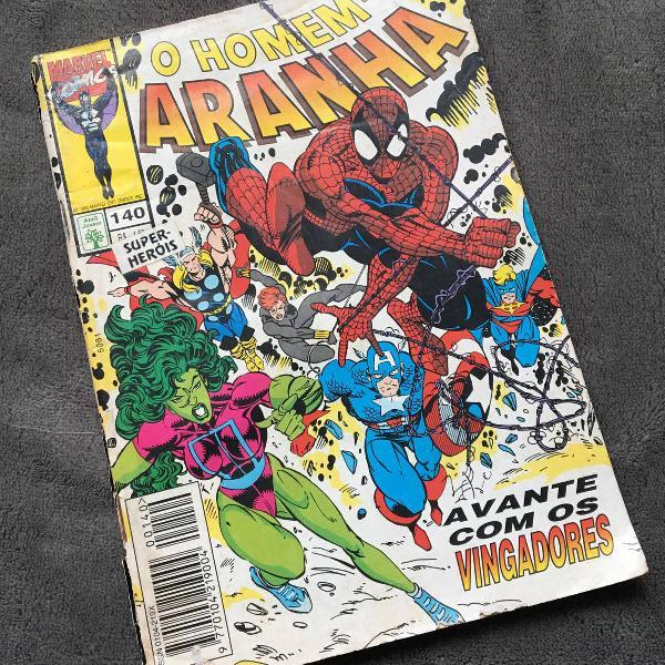 hq homem aranha n°140 1995
