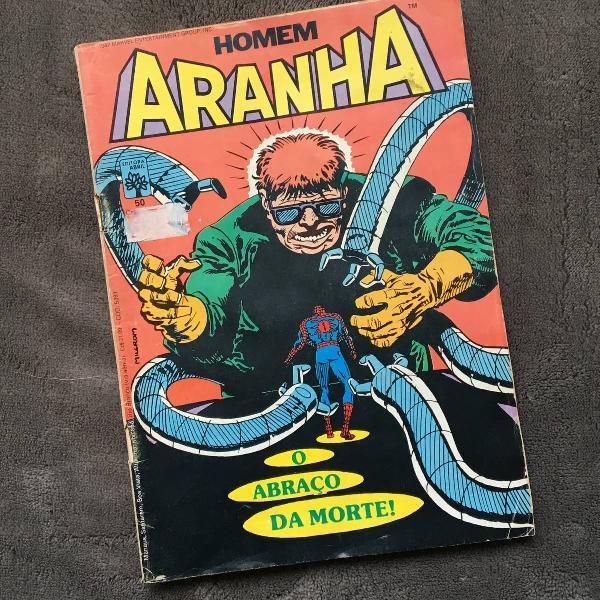 hq homem aranha n°50 1987