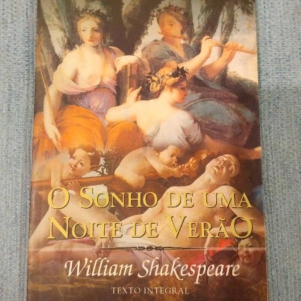 livro O sonho de uma noite de verão ( William Shakespeare)
