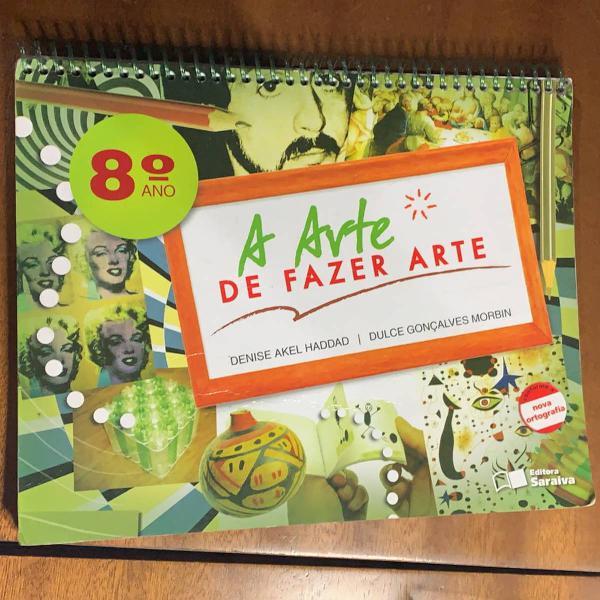 livro didático de artes