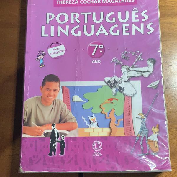 livro didático de português 7º ano
