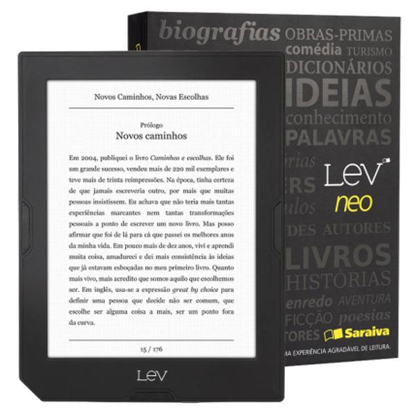 livro eletrônico - estado impecável - lev