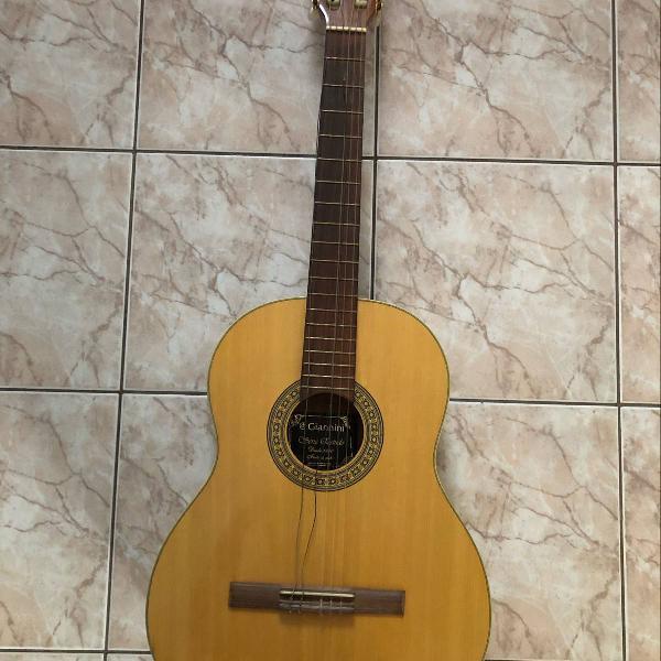 violão giannini acústico nylon