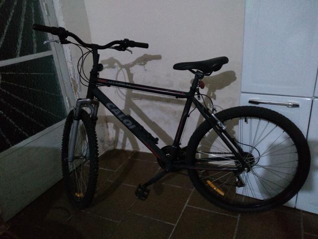 Bicicleta Caloi Aluminium em excelente estado