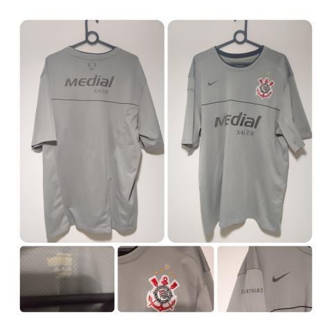 Hoje tem Corinthians. Camisa de Treino Nike Medial. (Tam.