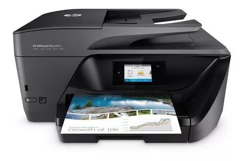 Multifuncional Hp Officejet Pro 6970 Wifi Fax Scaner Bivolt