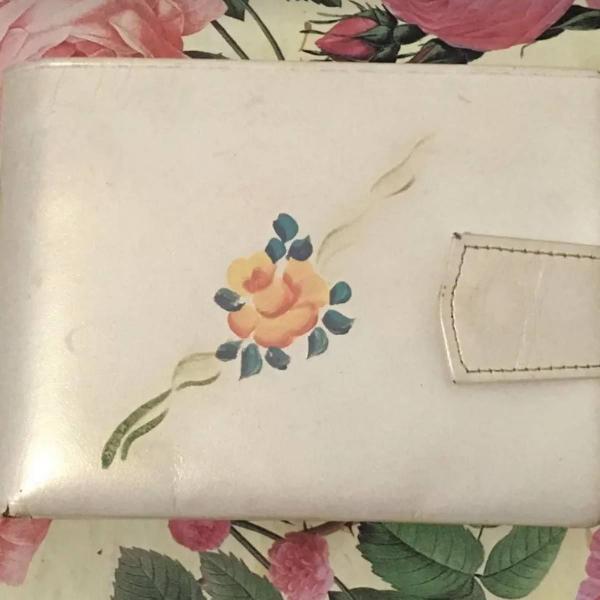 carteira feminina vintage anos 50