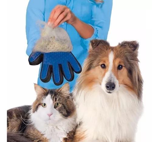 10x Luva Tira Pelo Cachorro E Gato Ranca Pelo Escova True