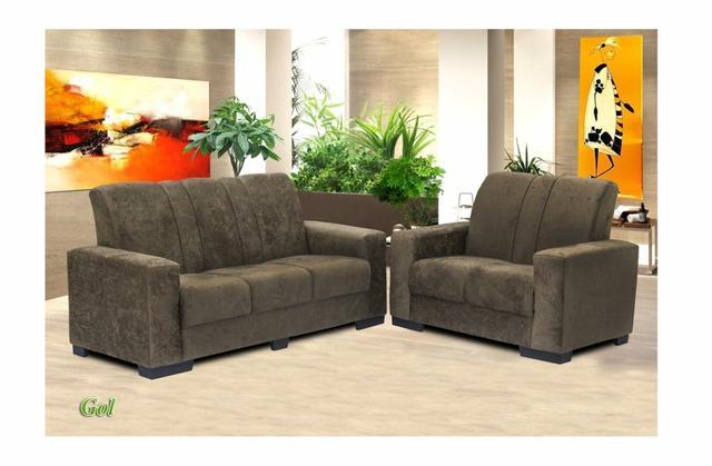 Jogo de sofa 2 e 3 lugares novo varias cores disponíveis