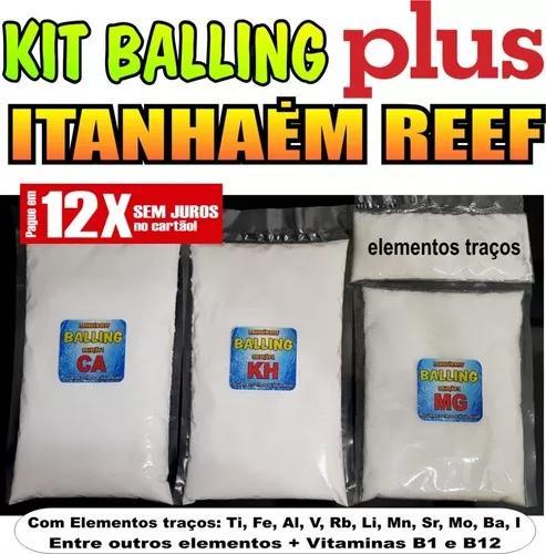 Kit Para Balling Plus Ca+kh+mg + El