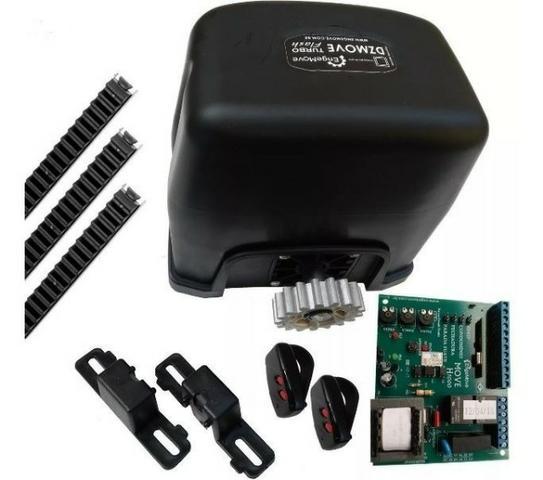 Motor Para Portão DZ Slim Turbo Engemove (Kit) + Brinde
