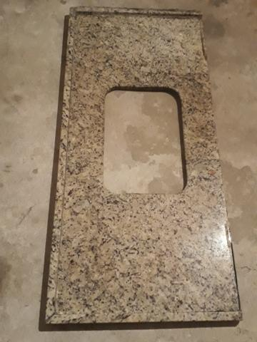 Pedra de marmore para pia