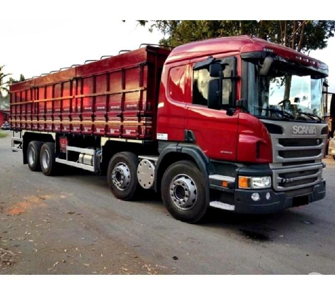 Scania P 310 8x2 Bi Truck Leito Graneleiro