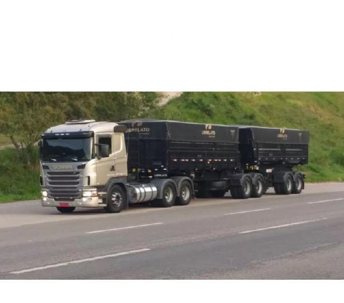 Vendo Scania G420 + caçamba PARCELADA