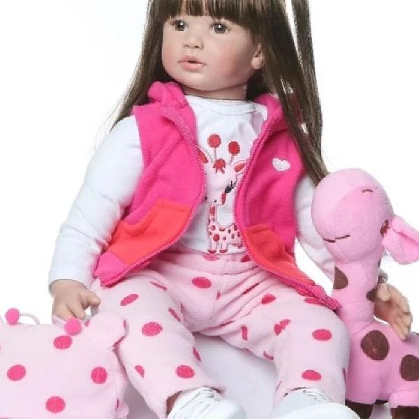 Boneca Bebê reborn menina 60 cm!!!