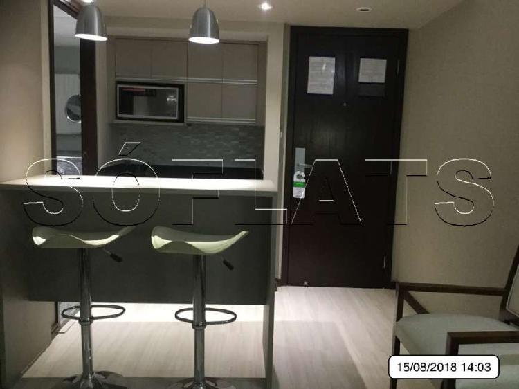 Flat com 1 Quarto para Alugar, 30 m² por R$ 1.580/Mês COD.