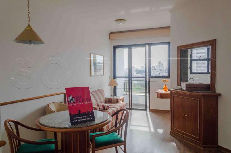 Flat com 1 Quarto para Alugar, 45 m² por R$ 1.955/Mês COD.