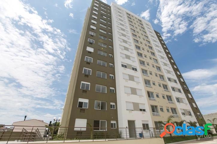 Apartamento 03 dormitórios com suíte, 1 vaga. Santo