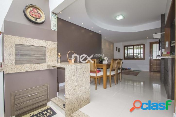 Casa em condomínio 03 dormitórios, 2 vagas. Ipanema