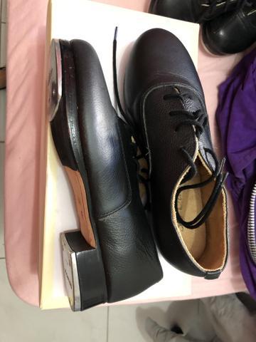 Sapato sapateado profissional só dança