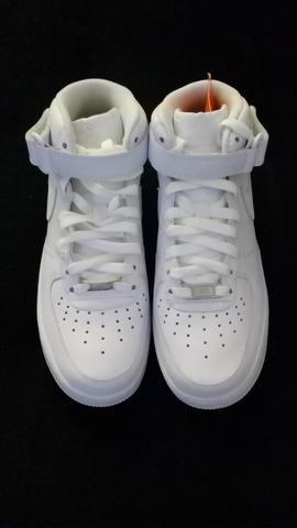 Tênis Nike Air AF1 Branco, TAM 38, Novo