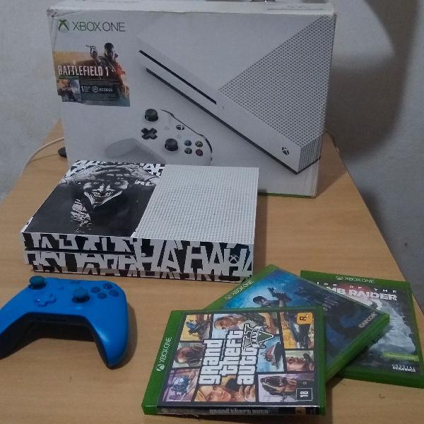 Xbox One S 500gb - 3 jogos